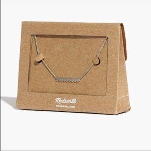 • Madewell Arrow Bar Necklace •